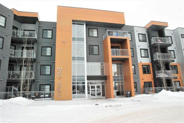 213 507 Albany Way NW, Edmonton, AB T6V 0H9 (#E4187705) :: Initia Real Estate