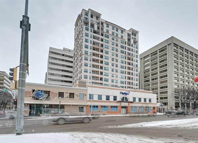 1205 9939 109 Street, Edmonton, AB T5K 1H6 (#E4187756) :: The Foundry Real Estate Company
