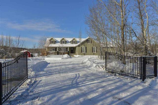 99 51420 RGE RD 270, Rural Parkland County, AB T7Y 1G5 (#E4188010) :: Initia Real Estate