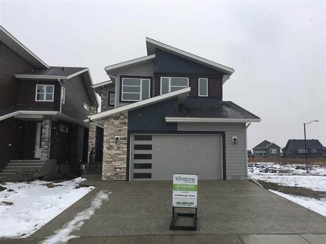26 Roberge Close, St. Albert, AB T8N 7W3 (#E4188036) :: The Foundry Real Estate Company