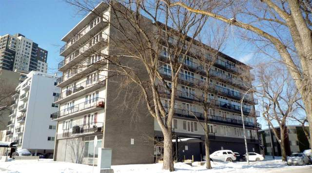 306 8306 Jasper Avenue, Edmonton, AB T5H 3S3 (#E4188079) :: Initia Real Estate