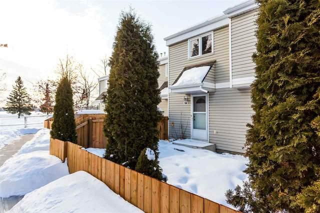 9B Castle Terrace, Edmonton, AB T5X 2E6 (#E4188196) :: Initia Real Estate