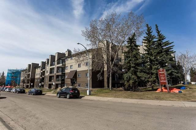 405 4007 26 Avenue, Edmonton, AB T6L 5L9 (#E4188236) :: Initia Real Estate