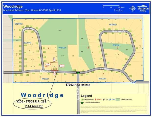 206 Erickson Drive, Rural Sturgeon County, AB T0A 2R0 (#E4188762) :: Initia Real Estate