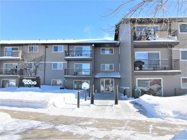 310 15105 121 Street, Edmonton, AB T5X 2G3 (#E4188898) :: Initia Real Estate