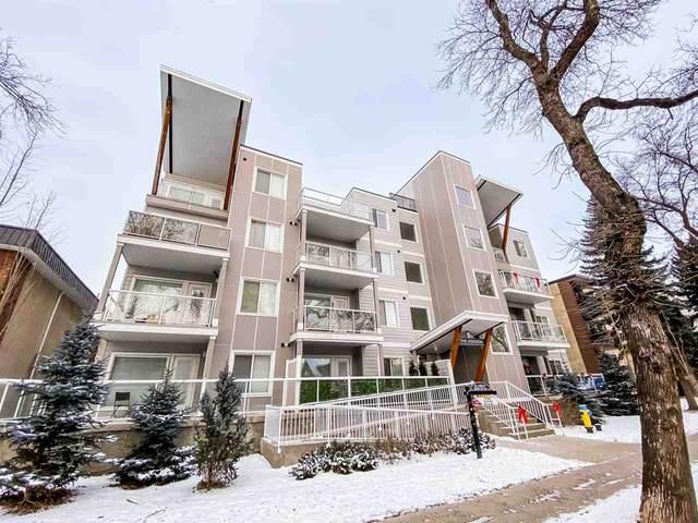 403 10030 83 Avenue, Edmonton, AB T6E 2C2 (#E4189565) :: RE/MAX River City