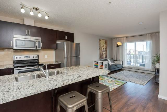 210 142 Ebbers Boulevard, Edmonton, AB T5Y 3W2 (#E4189789) :: Initia Real Estate