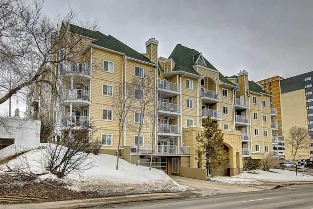 409 9640 105 Street, Edmonton, AB T5K 0Z7 (#E4189989) :: Müve Team | RE/MAX Elite