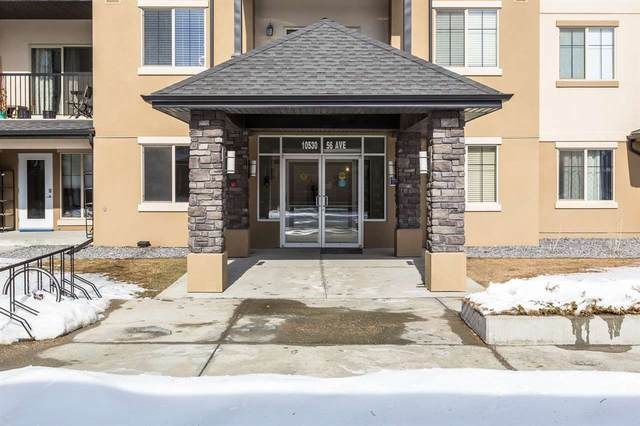 209 10530 56 Avenue, Edmonton, AB T6H 0X7 (#E4190947) :: Initia Real Estate