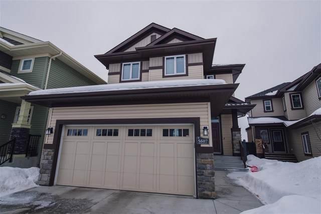 5607 Greenough Cape Cape, Edmonton, AB T5T 4P9 (#E4191203) :: Initia Real Estate