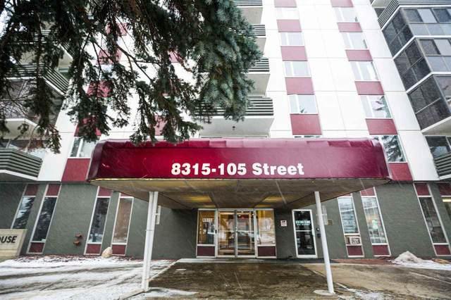 403 8315 105 Street, Edmonton, AB T6E 4H4 (#E4191261) :: RE/MAX River City