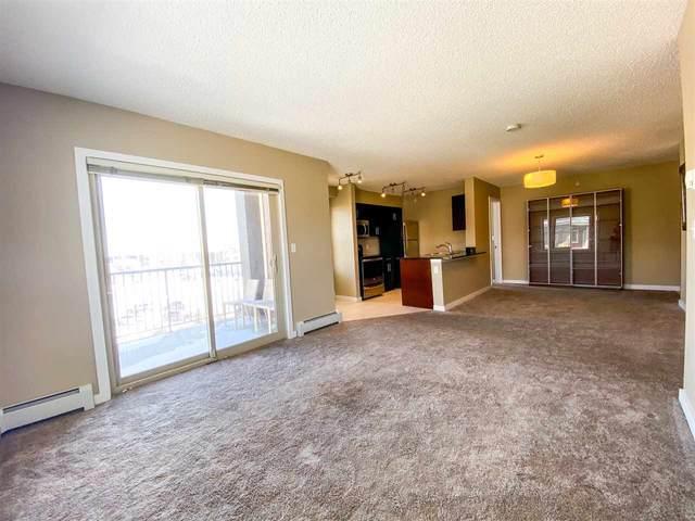 401 12035 22 Avenue, Edmonton, AB T6W 2X9 (#E4191554) :: Initia Real Estate