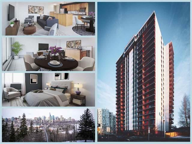 405 10135 Saskatchewan Drive, Edmonton, AB T6E 4Y9 (#E4191734) :: RE/MAX River City