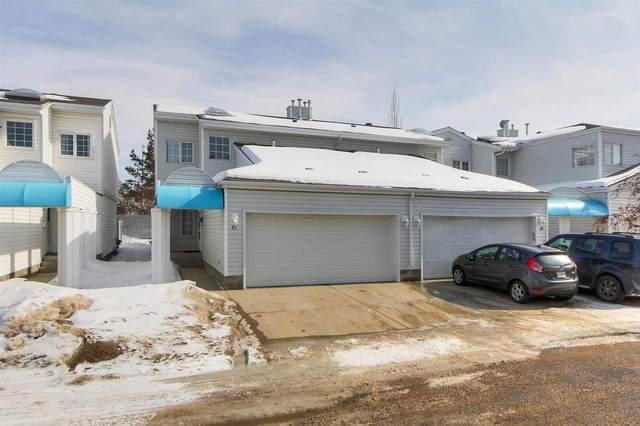 27 2911 36 Street, Edmonton, AB T6L 6K4 (#E4191962) :: Initia Real Estate