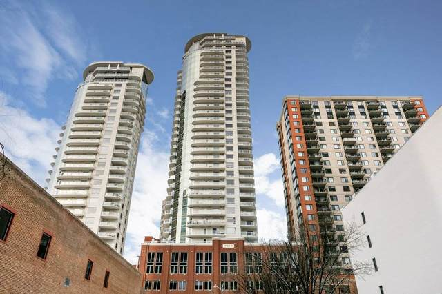 705 10152 104 Street NW, Edmonton, AB T5J 0B6 (#E4192482) :: RE/MAX River City