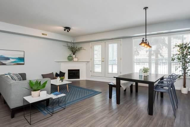 111 10033 110 Street, Edmonton, AB T5K 1J5 (#E4193082) :: Initia Real Estate