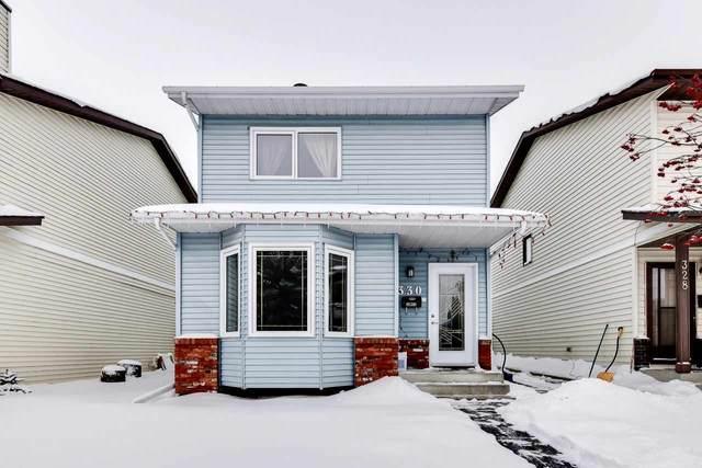 330 Kirkpatrick Crescent, Edmonton, AB T6L 5E1 (#E4193113) :: Initia Real Estate