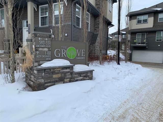41 4029 Orchards Drive, Edmonton, AB T6X 1V2 (#E4193184) :: Initia Real Estate