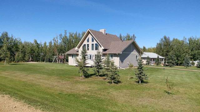 100 462028 RR 11, Rural Wetaskiwin County, AB T0C 2V0 (#E4193669) :: Initia Real Estate