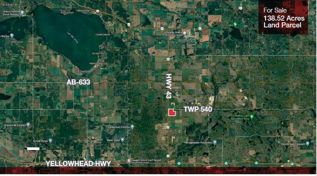 Highway 43 Township Rd 540, Rural Lac Ste. Anne County, AB T0E 0A1 (#E4195809) :: RE/MAX River City