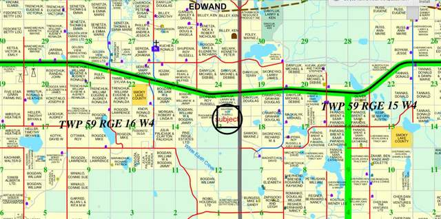 TWP 59, Rr 16 Twp59 Road, Rural Smoky Lake County, AB T0A 3C0 (#E4195982) :: The Foundry Real Estate Company