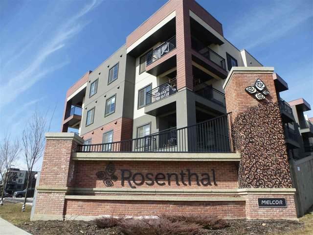 415 1004 Rosenthal Boulevard, Edmonton, AB T5T 5X9 (#E4196827) :: Müve Team   RE/MAX Elite