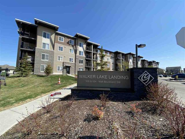117 534 Watt Boulevard, Edmonton, AB T6X 1P7 (#E4197390) :: RE/MAX River City