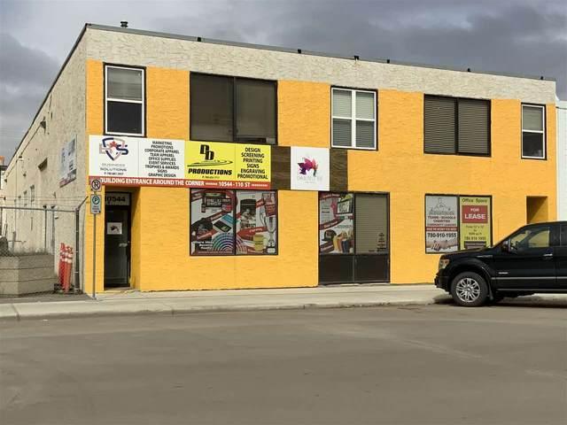 10538 10544 110 ST NW, Edmonton, AB T5H 3C5 (#E4197398) :: RE/MAX River City