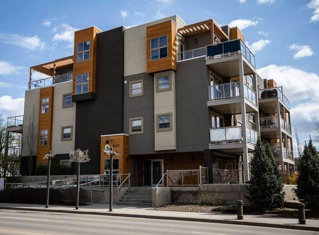 203 8515 99 Street, Edmonton, AB T6E 3T7 (#E4197588) :: RE/MAX River City