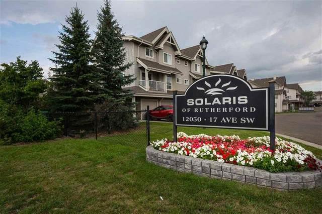 37-12050 17 Avenue, Edmonton, AB T6W 1X4 (#E4198119) :: The Foundry Real Estate Company