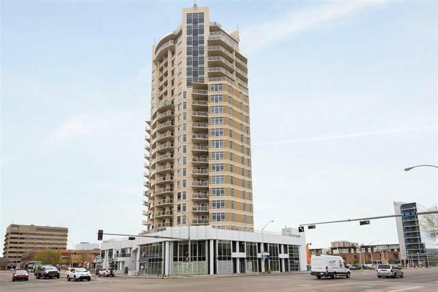 902 10388 105 Street, Edmonton, AB T5J 0C2 (#E4198351) :: The Foundry Real Estate Company