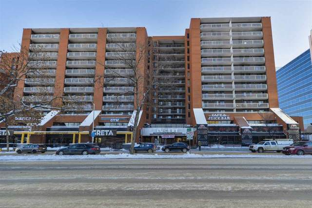 1202 10125 109 Street, Edmonton, AB T5J 3P1 (#E4198449) :: The Foundry Real Estate Company