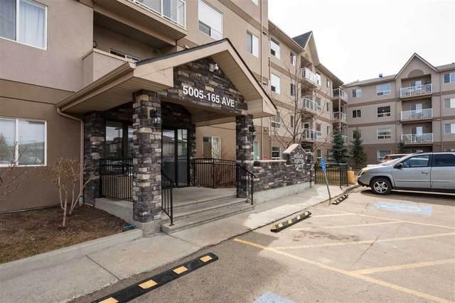 312 5005 165 Avenue, Edmonton, AB T5Y 0L8 (#E4198591) :: Müve Team | RE/MAX Elite