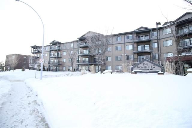 309 11511 27 Avenue, Edmonton, AB T6J 7J8 (#E4198936) :: Müve Team | RE/MAX Elite