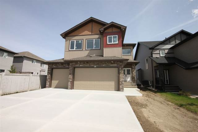 26 Meadowland Way, Spruce Grove, AB T7X 0G7 (#E4199146) :: The Foundry Real Estate Company