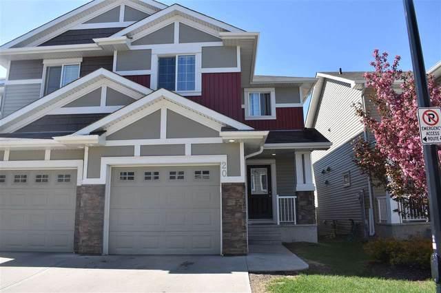 20 5317 3 Avenue, Edmonton, AB T6X 0W7 (#E4199353) :: RE/MAX River City