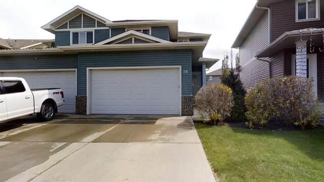 28 735 85 Street, Edmonton, AB T6X 0K5 (#E4199412) :: The Foundry Real Estate Company