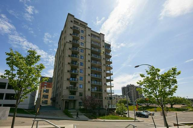 203 9707 106 Street, Edmonton, AB T5K 0B7 (#E4199456) :: The Foundry Real Estate Company