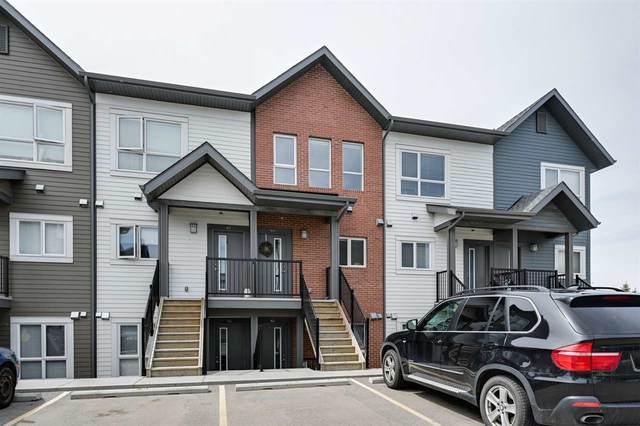 44 2560 Pegasus Boulevard, Edmonton, AB T5E 6V4 (#E4199597) :: The Foundry Real Estate Company