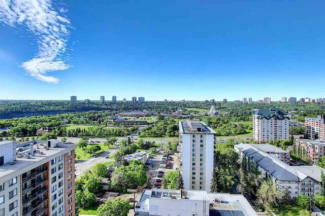 202 9819 104 Street, Edmonton, AB T5K 0Y8 (#E4200032) :: RE/MAX River City