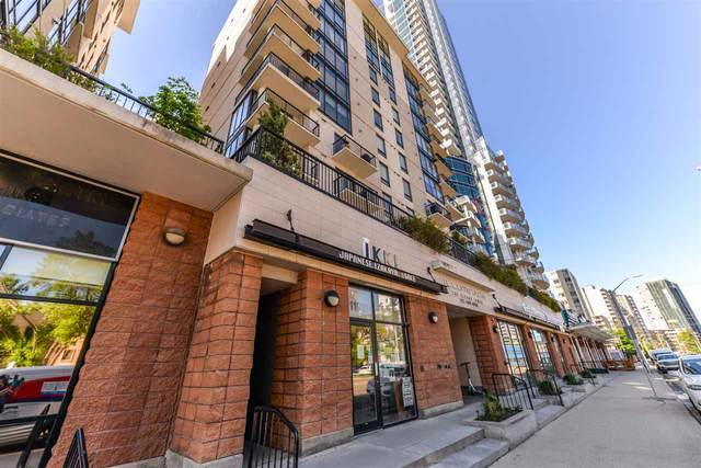 802 11933 Jasper Avenue NW, Edmonton, AB T5K 0P1 (#E4200159) :: RE/MAX River City
