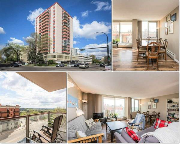 505 10011 116 Street, Edmonton, AB T5K 1V4 (#E4200203) :: RE/MAX River City
