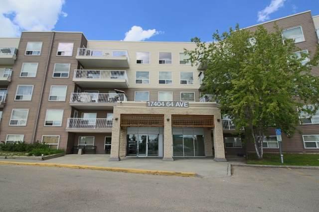 314 17404 64 Avenue, Edmonton, AB T5T 6X4 (#E4200380) :: RE/MAX River City
