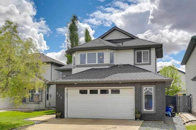 439 Byrne Crescent, Edmonton, AB T6N 1E2 (#E4200418) :: RE/MAX River City