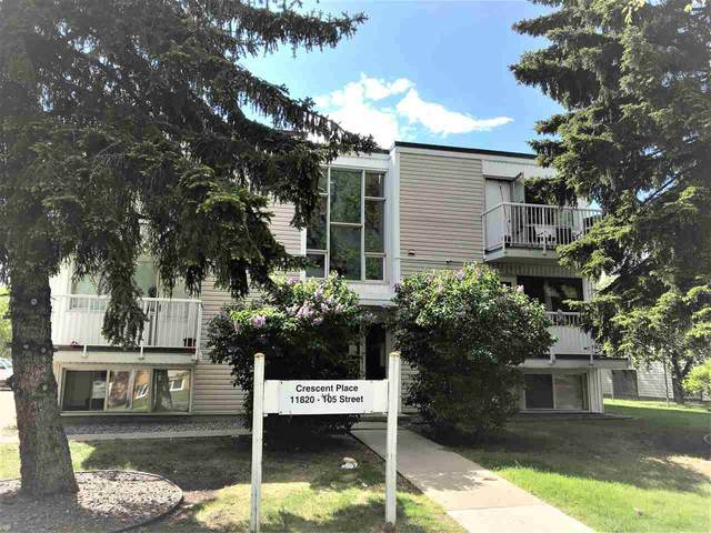 11 11820 105 Street, Edmonton, AB T5G 2N2 (#E4201565) :: RE/MAX River City