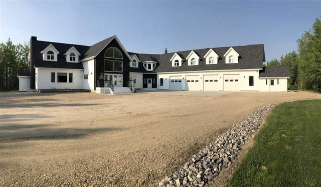 #1 6025 TWP RD 522, Rural Parkland County, AB T0E 2B0 (#E4201568) :: Müve Team | RE/MAX Elite