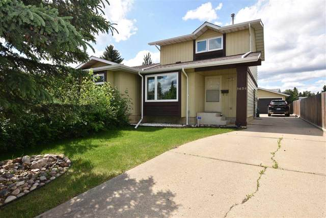 3634 Hill View Crescent, Edmonton, AB T6L 1C4 (#E4201739) :: RE/MAX River City