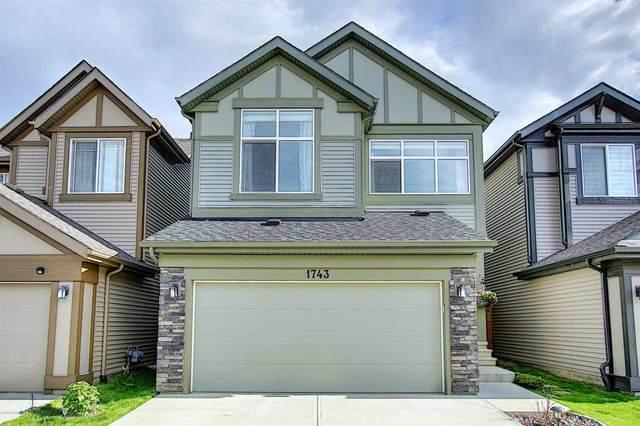 1743 Dumont Crescent, Edmonton, AB T6W 3J2 (#E4202420) :: Initia Real Estate
