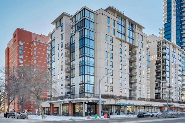 403 10028 119 Street, Edmonton, AB T5K 1Y8 (#E4203733) :: Initia Real Estate
