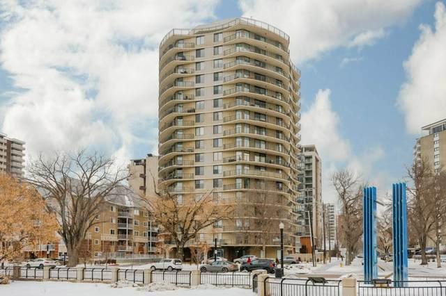 304 11710 100 Avenue NW, Edmonton, AB T5K 2G3 (#E4203881) :: Initia Real Estate